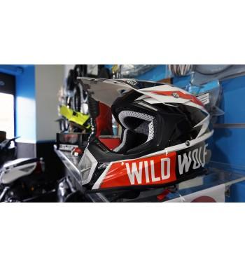 Casco Cross en Carbono Wild Wolf