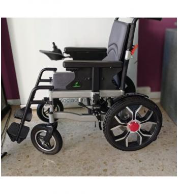 Silla de ruedas eléctrica plegable aluminio S1 Sabway